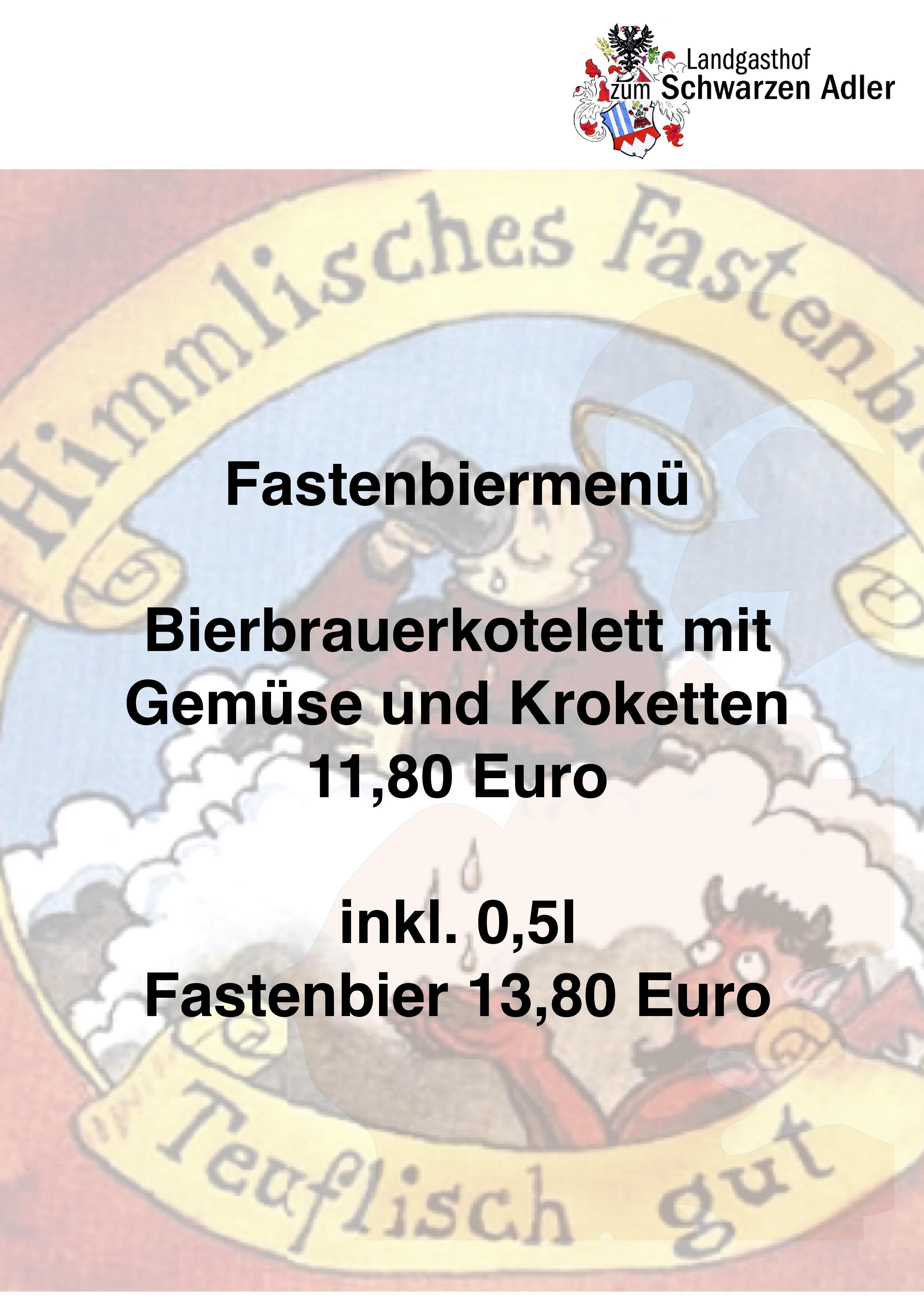 FastenbierSpeisenkarte2019
