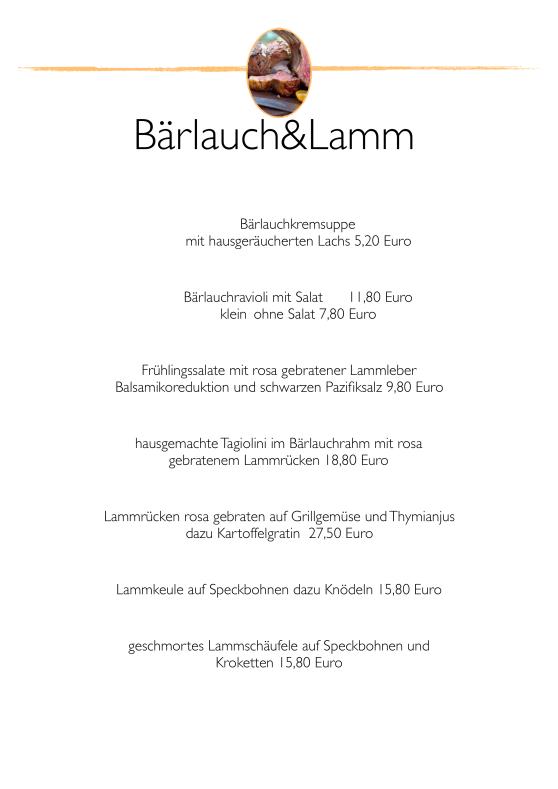 SpeisenkarteBärlauch&Lamm2020
